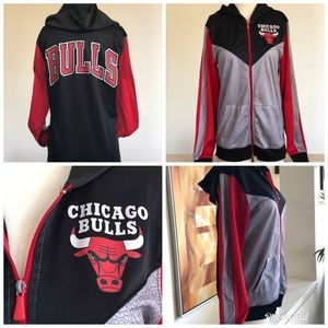 Women's NBA Retro Chicago Bulls Jacket | Size Med